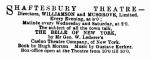The Era – Saturday 14 January1899
