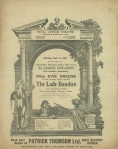 The Lady Dandies – 9th September 1907 – frontpage
