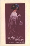 The Merry Widow - Theatre Royal, Barnstable - 1909