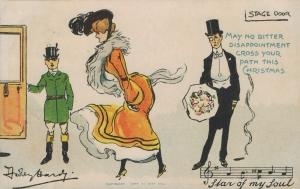 Stage Door Johnny - (Davidson Bros. 8041) 1904.