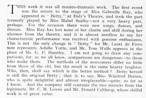 Betty - The Sketch - 10th November 1915
