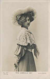 "Gabrielle Ray as ""Thisbe"" in ""The Orchid"" 1903  (J. Beagles 77 C)"