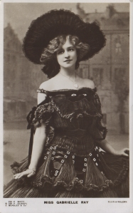 "Gabrielle Ray as ""Thisbe"" in ""The Orchid"" 1903 (J. Beagles G 729 P)"
