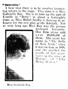 Betty - Daily Mirror - Monday 27 September 1915