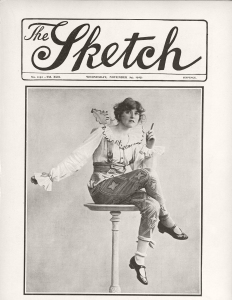 Betty - The Sketch - 24th November 1915