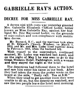 Divorce - Daily Mirror - Friday 24 July 1914