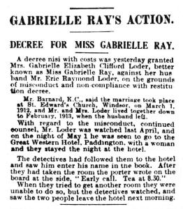 Divorce - Daily Mirror - Friday 24 July 1914