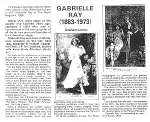 Gabrielle Ray - Graham Loton - 1983