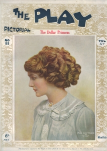 Lily Elsie – The Dollar Princess – The Play Pictorial – 1909