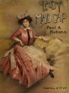 Lady Madcap - Music score cover