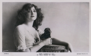 "Gabrielle Ray as ""Polly Polino"" in 'Peggy' 1911 (Rotary 11779 E)"