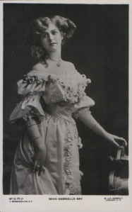 "Gabrielle Ray as ""Thisbe"" in ""The Orchid"" 1903  (J. Beagles G 77 D)"