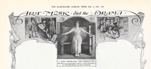 The Lady Dandies - The Illustrated London News - 9th February 1907