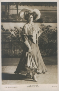"""Gabrielle Ray as """"Thisbe"""" in """"The Orchid"""" 1903 (Philco 3002)"""