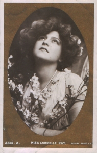 "Gabrielle Ray as ""Lady Dorothy Congress"" in ""The Little Cherub"" 1906  (Rotary 5815 A)"