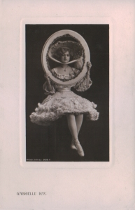 "Gabrielle Ray as ""Thisbe"" in ""The Orchid"" 1903 (Philco 5019 E)"