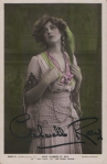 "Gabrielle Ray as ""Frou Frou"" in ""The Merry Widow"" 1907 (Rotary 4869 D)"