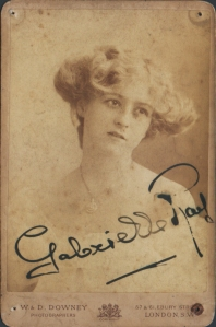 Gabrielle Ray - Cabinet Card