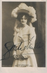 Gertie Millar (Rotary 3062) autographed