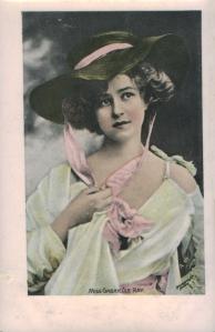 Gabrielle Ray (Enamelette A 61) 1905