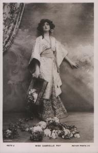 Gabrielle Ray (Rotary 4879 U) 1908