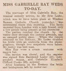 Dundee Evening Telegraph - Friday 01 March 1912 (Marriage)
