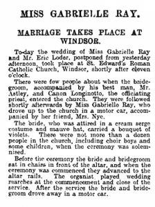 Globe - Friday 01 March 1912