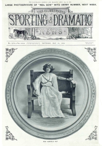 Gabrielle Ray - The Illustrated Sporting & Dramatic News - 21st May 1910