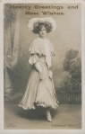 "Gabrielle Ray as ""Thisbe"" in ""The Orchid"" 1903 (Ralph Dunn A 11)"