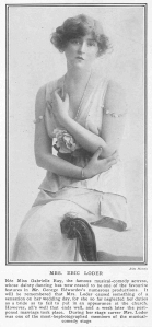 Gabrielle Ray - The Tatler - 30th July 1913