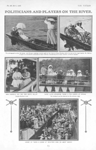 Gabrielle Ray - The Tatler - Wednesday 1st July 1908