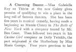 Gabrielle Ray – The Tatler – Wednesday 11th November 1903a