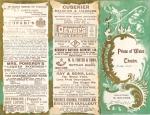 Lady Madcap Programme – 24th June 19051