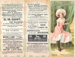The Orchid – Theatre Programme – 26th October 1904 (frontcover)