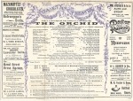 The Orchid – Theatre Programme – 26th October 1904(cast)
