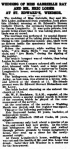 Gabrielle Ray – Wedding – Windsor and Eton Express – Saturday 2nd March 1912a