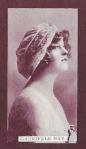 Gabrielle Ray – Scissors Cigarette Card No 24(front)