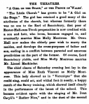 Gabrielle Ray – A Girl on the Stage – Truth – Wednesday 9th May1906