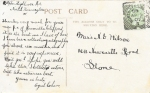 Gabrielle Ray (Rotary 4403 I) 1907 Autographback