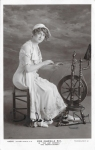 """Gabrielle Ray as """"Egle"""" in """"The Lady Dandies"""" 1907  (Rotary 4403 I)1907Autograph"""