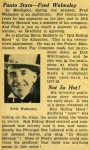 Fred Walmsley – Little Red Riding Hood – The Daily Mirror – Thursday 17th January1935