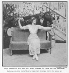 Gabrielle Ray – The Dollar Princess – TheIllustrated Sporting and Dramatic News – Saturday 4th December1909a